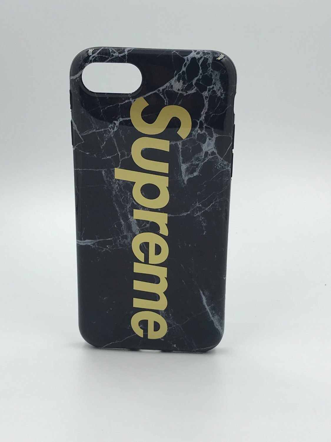Black Marble Supreme Case IPhone 6/6s/7/8/X – MobileKare